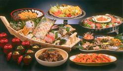 花咲盛(10名様セット料理)